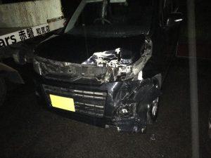 スズキ ワゴンR 事故車 H21 8万キロ 5.5万円