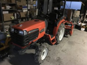 クボタ トラクター 農業機械