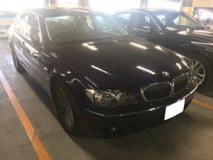 H17年 BMW 7シリーズ